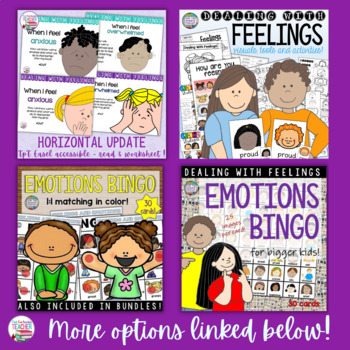 Feelings Emotions: When I Feel Angry (2 pack) | Distance Learning