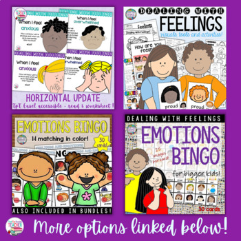 Feelings and Emotions - When I Feel Sad (2 pack) | Distance Learning