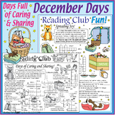 50% Off Bundle: December Holidays Activity Page and Puzzle