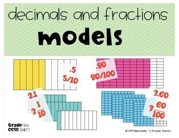 Bundle Decimal Numbers Mini lessons, Activities, Task Cards, Games