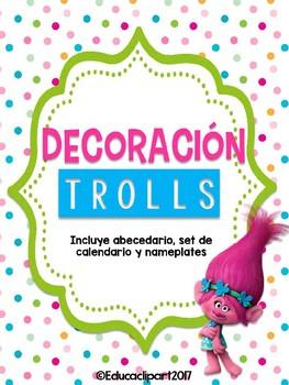 Bundle Decoración Trolls I