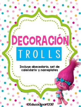 Bundle Decoración Trolls I