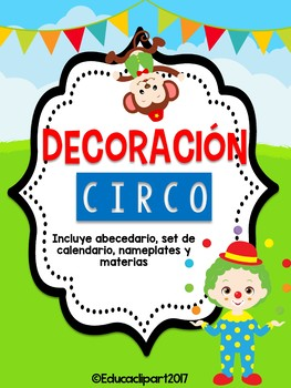 Bundle Decorativo: Circo