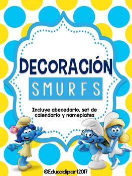 Bundle Decorativo: Los Pitufos (Smurfs)