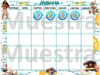 Bundle Decorativo: Moana