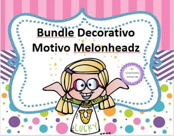 Bundle Decorativo Motivo Melonheadz