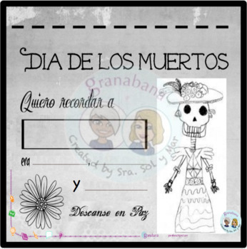 Bundle! Día de los Muertos - Day of the Dead - 2 Activities to Introduce DdLM