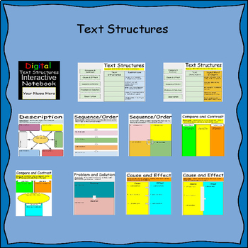 Bundle-2 Digital Interactive Notebooks for Google Drive