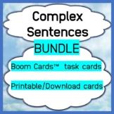 Complex Sentences - Bundle - Print & Boom Cards™