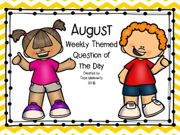 Bundle Discount August Weekly Themed Question of the Day
