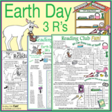 Earth Day 3 R's Puzzle Pack – Activity Set, Word Search an