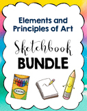 Bundle:  Elements and Principles of Art Sketchbook