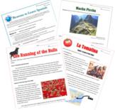 Bundle: Emergency Sub Plans for Spanish Teachers