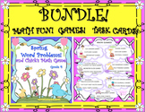 Bundle! Math Games and Spring! Word Problems