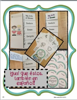 Bundle- Eng./Span. Celebrate Our Earth: Reduce, Reuse, Recycle!: Flip Books...