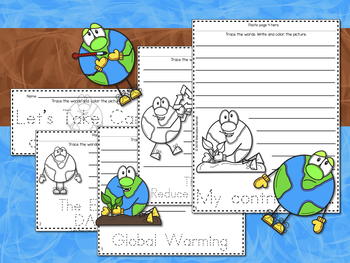 BUNDLE! English-Spanish Let's Take Care of Our Earth! ¡Cuidemos Nuestra Tierra!