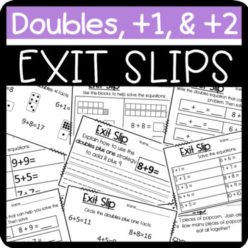 Bundle: Exit Slips for the Entire Year!