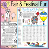 Fairs and Festivals Two-Page Activity Set and Word Search Puzzle