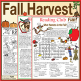 Bundle: Fall Harvest, Apples, and Johnny Appleseed