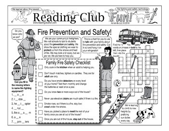 Bundle: Fire Prevention and Safety
