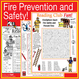 Fire Prevention and Safety Puzzle Pack – with Bonus Activity Set