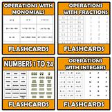 Bundle - Flashcards - 11 ITEMS
