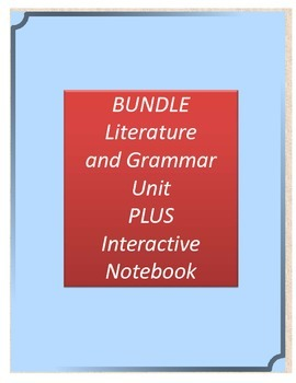 Bundle! Flipped  Literature and Grammar Unit AND Interacti