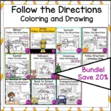 Bundle Follow the Directions Worksheets