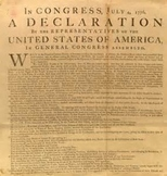 Bundle of 2 - The Declaration of Independence & The US Constitution