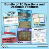 Bundle: 10 Fractions and Decimals Products