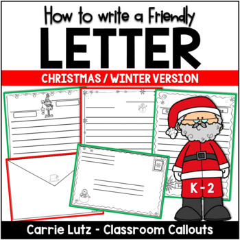 FRIENDLY LETTER TEMPLATES BUNDLE