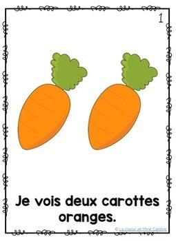 Bundle: Fruit and Vegetable Emergent Reader (French)
