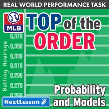 Bundle G10-12 Probability & Models - Top of the Order Performance Task