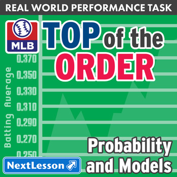 Bundle G10-12 Probability & Models - Top of the Order Performance Task