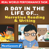 Bundle G3 Narrative Reading & Writing - A Day in the Life Of... Performance Task