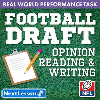 Bundle G3 Opinion Reading & Writing - Football Draft Perfo