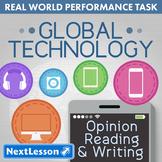 Bundle G4 Opinion Reading & Writing - Global Technology Performance Task
