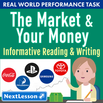 Bundle G5 Informative Reading & Writing-The Market & Your Money Performance Task