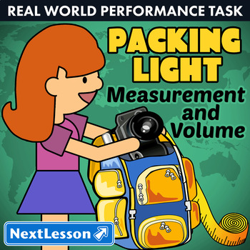 Bundle G5 Measurement & Volume - Packing Light Performance Task