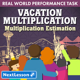 Bundle G5 Multiplication & Estimation - Vacation Multiplication Performance Task