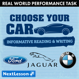 Bundle G7 Informative Reading & Writing - Choose Your Car