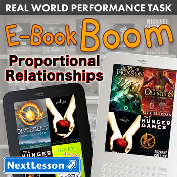 Bundle G7 Proportional Relationships - E-Book Boom Performance Task
