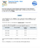 Bundle G7 Ratios & Fractions - Tweet for Charity Performance Task