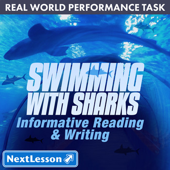 Bundle G8 Informative Reading & Writing - Swimming with Sharks Performance Task