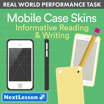 Bundle G9-10 Informative Reading & Writing - Mobile Case Skins Performance Task