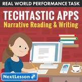 Bundle G9-10 Narrative Reading & Writing - Tech-Tastic Apps Performance Task