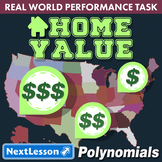 Bundle G9-11 Polynomials - Home Value Performance Task
