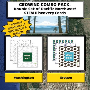 Bundle: GROWING Pacific Northwest STEM Discovery Cards Combo Pack (Buy 6/Get 6!)