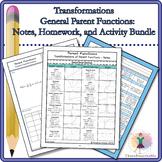 Bundle: General Parent Functions Transformations Bundle