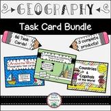 Bundle Geography Task Cards